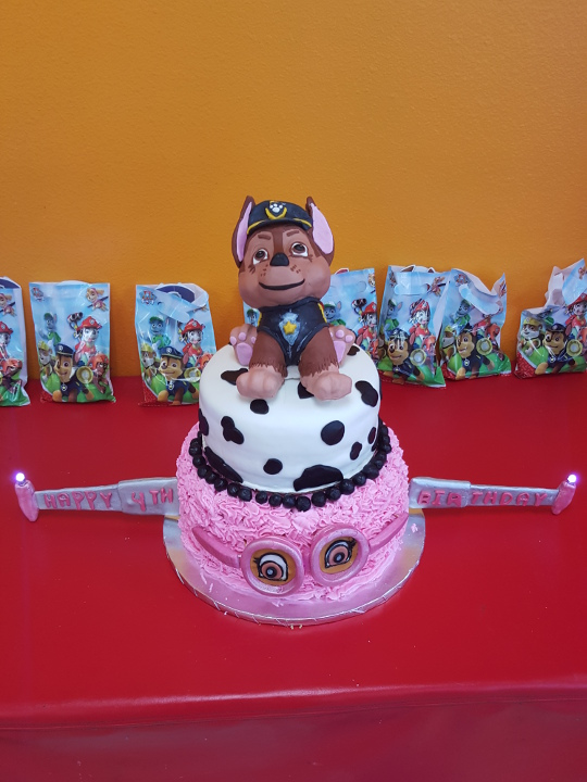Chase Paw Patrol birthday party